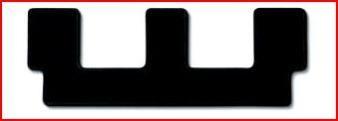 MONOBLOCK CARPET for rear row 3 in needleloom matting