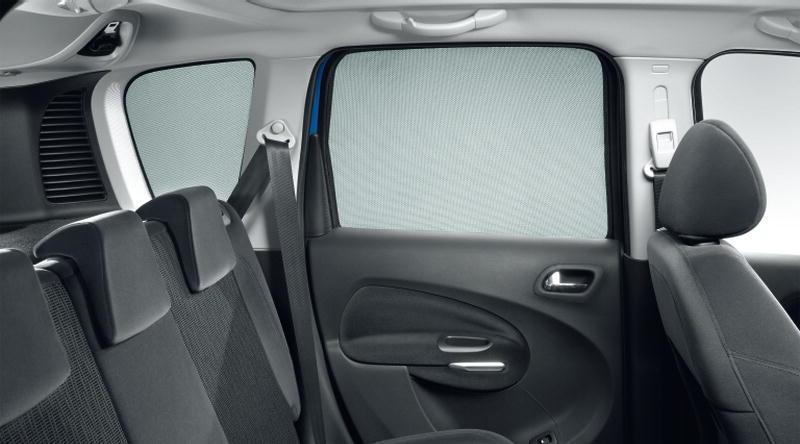 SET OF 2 SUN BLINDS for rear sliding door windows