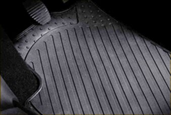 SET OF RUBBER FLOOR MATS