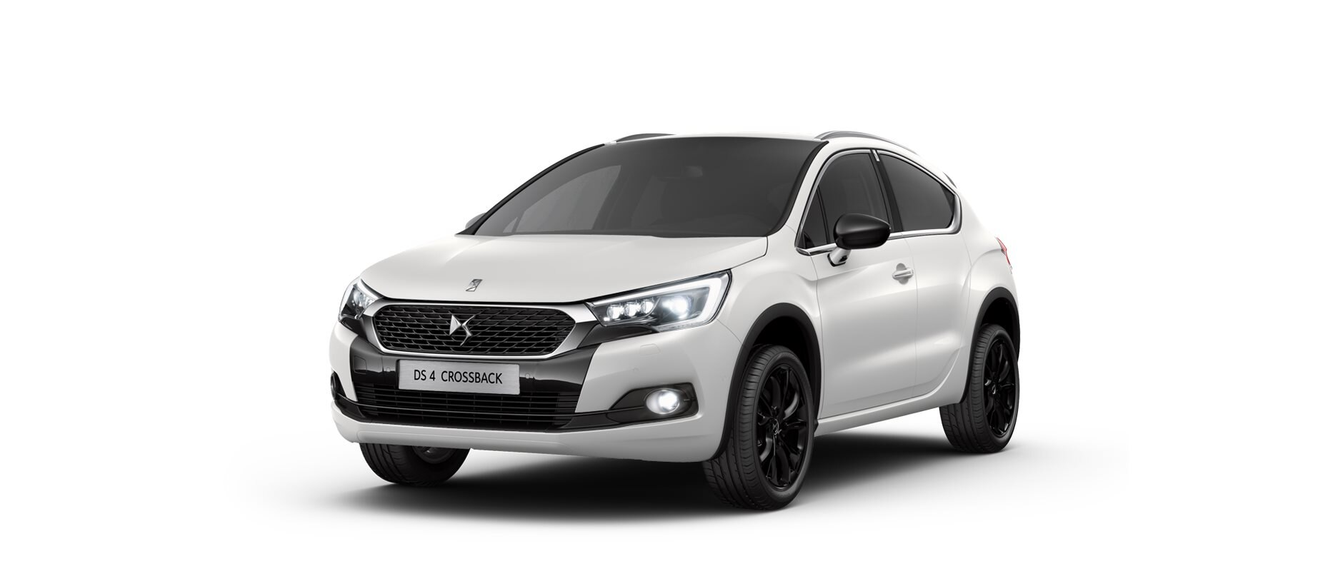 DS 4 Crossback - Pearl White