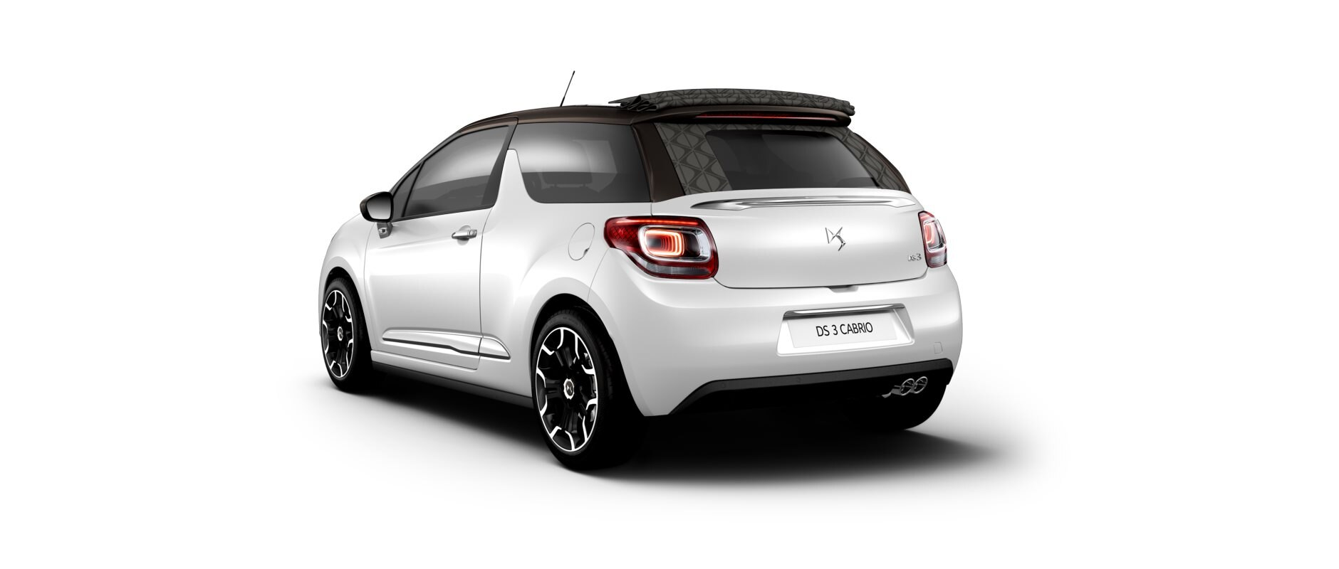 New DS 3  Cabrio - Pearl White