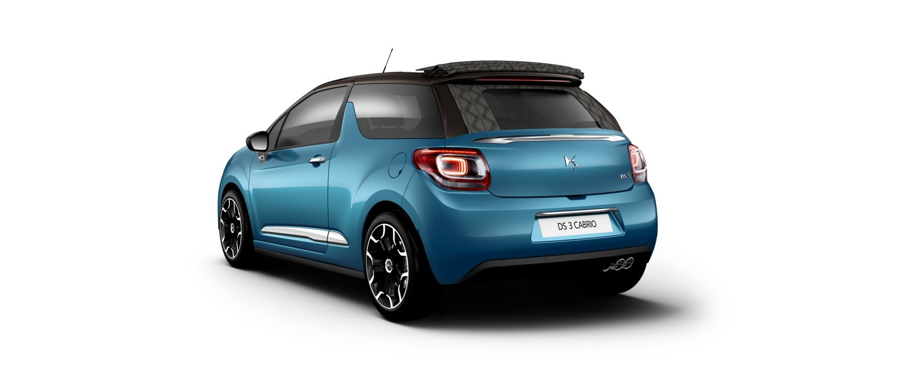 New DS 3  Cabrio - Belle-ile Blue