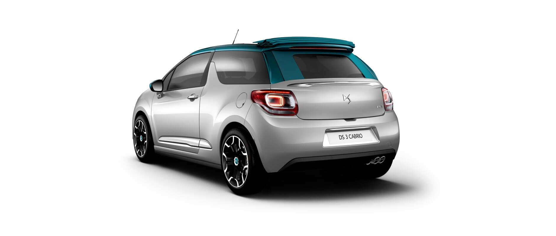 New DS 3  Cabrio - Aluminium Gray