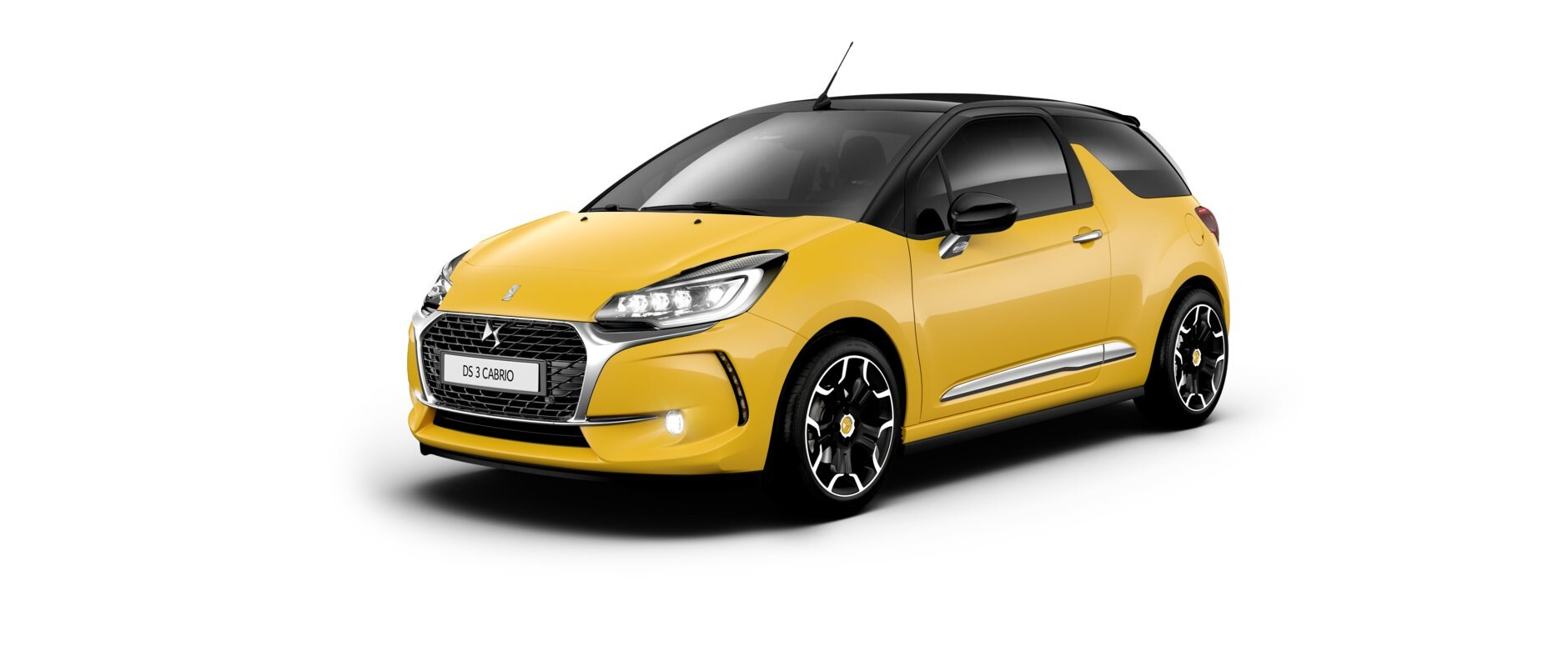 New DS 3  Cabrio - Yellow Pegase