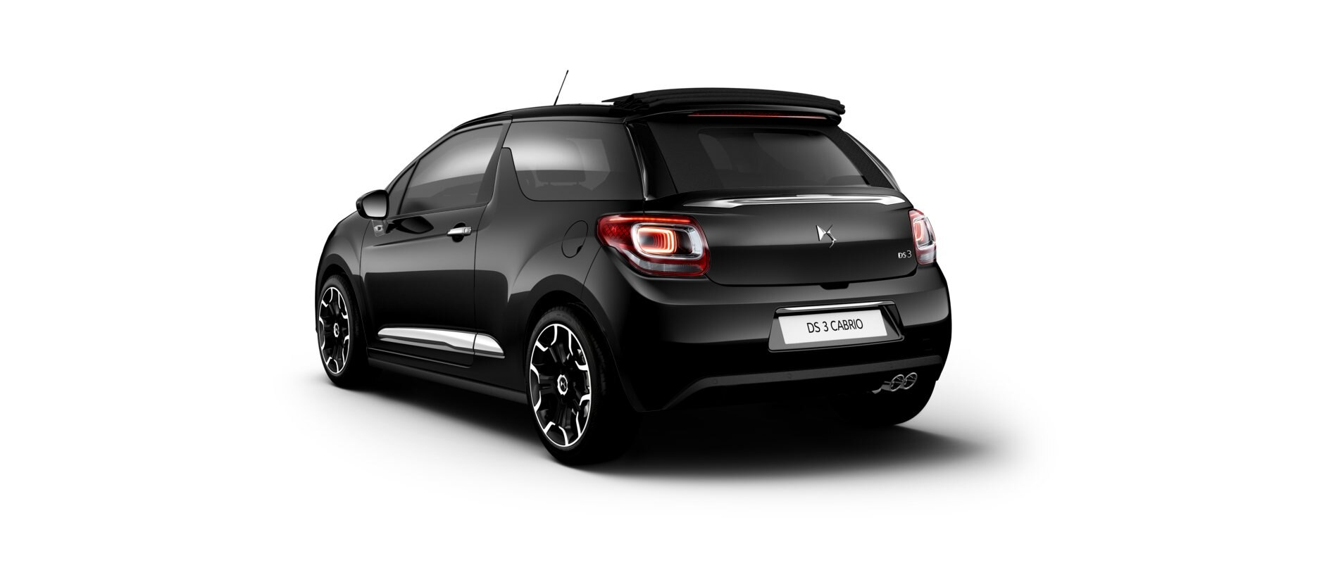 New DS 3  Cabrio - Perla Nera Black