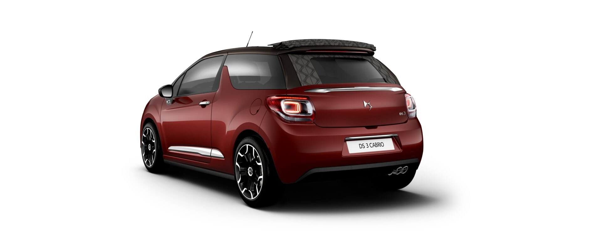 New DS 3  Cabrio - Rubi Red