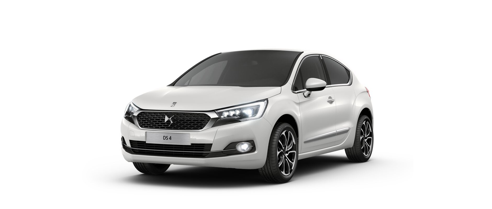 New DS 4 - Pearl White